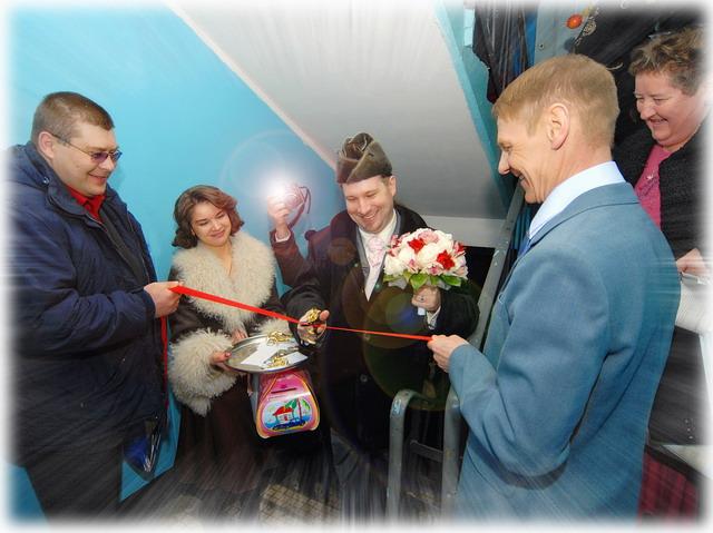 Le mariage en Russie Dans mes valenkis